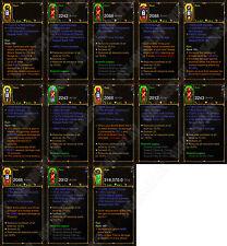 Diablo 3 ROS XBOX ONE [Hardcore] NEUF 2.6 Maison Ruine Crusader Set 150 Grift facile