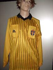 Adidas Schiedsrichter Trikot SVFF SFF Schweden langarm Gr. XL Fasching Kostüm