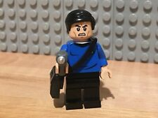 Brick Brigade Custom Star Trek McCoy LEGO Parts Minifigure w/Brick Forge Phaser
