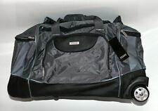 Gianfranco Ferre GFF 2in1 Trolley Reisetasche Tasche dunkelgrau, schwarz, neu