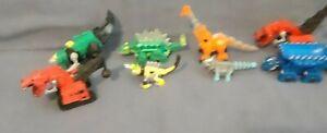 Mattel Dinotrux Skya Ace Reptool Ty Rux Garby Gri Vehicle Diecast Dreamworks Toy