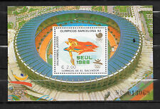 El Salvador : 1988 Olympic Games Seoul 88 and Barcelona 92  Minisheet ( MNH )