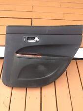 Buick LaCrosse Door Trim Panel Black Wood Grain Right Rear Passenger 06-09