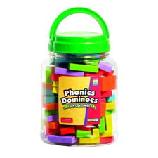Educational Insights Phonics Long Vowels Dominoes, Grade K and Up, 84 Pieces