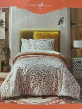 Opalhouse Medallion Comforter & Sham Set Twin Extra Long White & Dark Orange