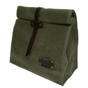 Canvas Storage Portable Bag For Travel Picnic Food Versatile Unique lunchbox