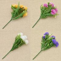 Artificial Ball Chrysanthemum Flower Home Garden Outdoor Ornament Decor 1 Pc