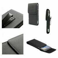 for Alcatel One Touch POP C7 Dual 7040 Case Metal Belt Clip Synthetic Leather...