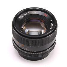 Contax Zeiss Planar T* 50mm f1.4 MF lens