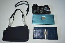 Miche Womens Should Bag Purse Lot Purse Extra Straps 2 Skin Shells Black Blue