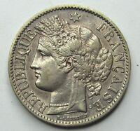 CERES - 2 Francs - 1887 A - Paris -