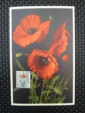 BELGIEN MK 1949 FLORA BLUMEN FLOWERS MAXIMUMKARTE CARTE MAXIMUM CARD MC CM a6727