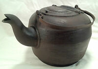Ant Cast Iron Leibrandt Dowell Kettle Teapot with Handle  Made Philadelphia PA