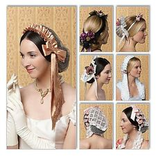 "Reduced Butterick 5663 ""Making History"" Civil War Historical Headpieces Pattern"