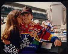 JEFF GORDON AUTOGRAPHED 8x10 FROM HIS '94 Victory At The BRICKYARD -UD AUTHENTIC