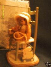 Cherished Teddies Becca We will share a bond that will last forever 2001