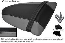 GREY & BLACK CUSTOM FITS KAWASAKI NINJA ZX6R 600 05-06 REAR SEAT COVER