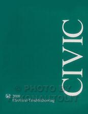 NEW 2009 Honda Civic Electrical Troubleshooting Manual OEM Wiring Diagram