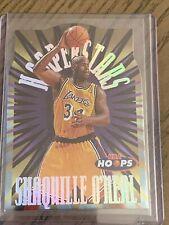 New listing 1997-98 NBA Hoops Shaquille O'neal Hooperstars Card #3 of 10