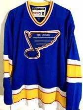 CCM Classic NHL Jersey Saint Louis Blues Team Blue sz S