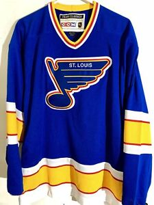 CCM Classic NHL Jersey Saint Louis Blues Team Blue sz S