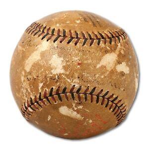 The Only Frank Chance Single Signed Baseball On Earth PSA DNA & JSA COA