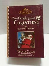 Hallmark Keepsake Ornament Twas the Night Before Christmas Santa Claus Volume 4