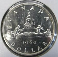 1960 Canada $1 dollar silver uncirculated coin