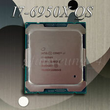 Intel i7-6950X QS Extreme Edition (10 Core, up to 3.5 GHz) 25MB CPU Processor