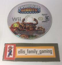 Skylanders Giants Nintendo Wii / Wii U Game Disc Only - Works Great - Ships Fast