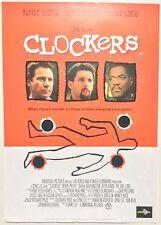 CLOCKERS / SPIKE LEE / ORIGINAL VINTAGE VIDEO FILM POSTER / HARVEY KEITEL 5
