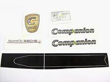 Satz original Aufkleber: Saxonette Companion Luxus, UV - und wetterbeständig RAR