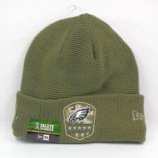 New Era Cap Men's NFL Philadelphia Eagles Salute To Service Winter Knit Hat