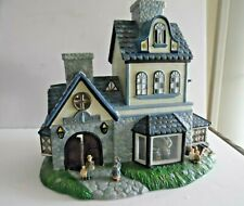 Partylite Olde World Village #1 Candle Shoppe ~Tea Light~Train Set or Christmas