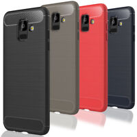 Hülle für Samsung Galaxy A6 A6+ 2018 Plus Silikon Case Tasche Cover Handy Bumper
