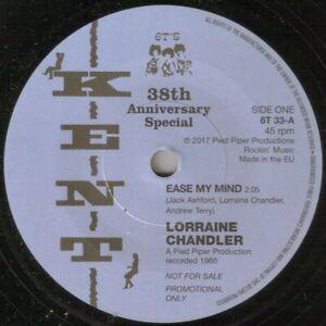 "NORTHERN SOUL - LORRAINE CHANDLER - EASE MY MIND - KENT 100 CLUB  - ""HEAR"""