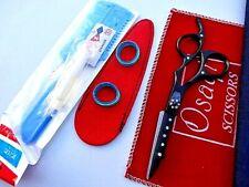 "30 Days Warranty_Osaqi  5.5"" Hairdressing  Hair  Scissors/Free 2 in 1 Razor/Comb"