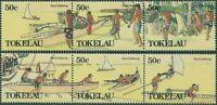 Tokelau 1989 SG171-176 Food Gathering set MNH