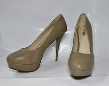 "Charlotte Russe nude hi-heel round toe pumps - Size 11, w/5.5"" heel - New"