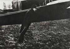 Jacques-Henri LARTIGUE: Zissou dans le vent de l'aeroplane, 1911 / BLINDSTAMP