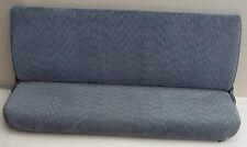 1998-2002 DODGE RAM 1500 Rear Back Seat Bench Agate Gray Cloth Fabric Quad Cab