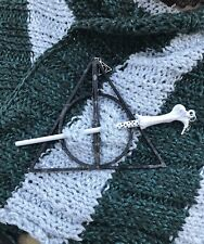 Lord Voldemort's Wand with Deathly Hallows Mark Shawl Pin/Stick Harry Potter