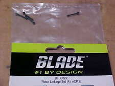 BLADE HELICOPTER PART - BLH3322 = ROTOR LINKAGE SET (4) : nCP X   (NEW)