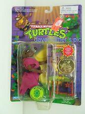 TMNT Teenage Mutant Ninja Turtles SPLINTER Action Figure w/card coin Sealed 1994