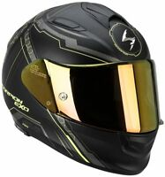 Scorpion Motorradhelm EXO-510-AIR Sync, matt-gelb , Integralhelm, M