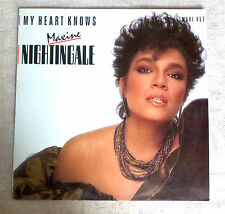 "DISQUE VINYL MAXI 45 T INT/MAXINE NIGHTINGALE""MY HEART KNOWS""MERCURY 884 562-1"