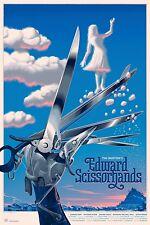 Edward Scissorhands Regular Alt Movie Poster by Laurent Durieux No. /425 NYCC
