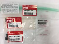 Genuine Honda Racing Corporation HRC Rear Brake Reservoir Delete 4 Parts Kit NEW