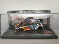 1/43 VOLKSWAGEN VW POLO R WRC OGIER 2016 MONTECARLO RALLY IXO CAR ESCALA DIECAST