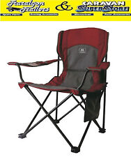 BBQ chair seat for camping camp fishing with drink holder 140kg Phone pouch CC7